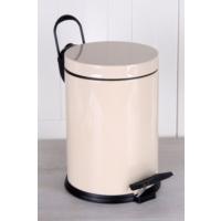 Queen'S Kitchen 5Lt Lüx Galvaniz Çöp Kovası