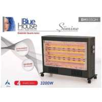 Blue House Şömine BH935QH 3200W Elektrikli Quartz Isıtıcı