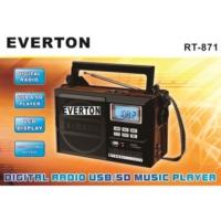 Everton Usb Ve Hafıza Kart Okuyuculu Mp3 Radyo Everton Rt-871