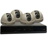 Begas 4 AHD Kameralı 1.0mp Güvenlik Sistemi Paketi - P173