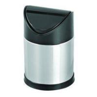 Hiper Sallanır Siyah Kapak Çöp Kovası - 3 Lt