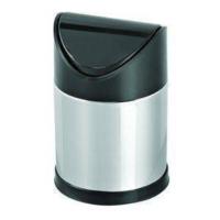 Hiper Sallanır Siyah Kapak Çöp Kovası - 16 Lt