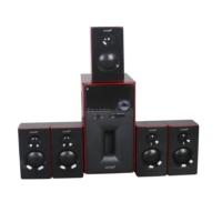 Leader H-6805 Sd/Mmc/Usb/Fm/BT Uzaktan Kumandalı 5+1 Ses Sistemi