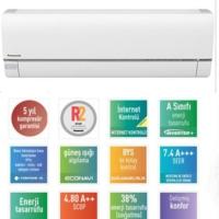 Panasonic Etherea Econavi Kıt-E18-Qk 18000 Btu Inverter Duvar Tipi Klima