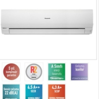 Panasonic Kıt-Re24-Pke3 24000 Btu İnverter Duvar Tipi Klima