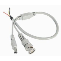 Ramtech Kablolu Bnc+Dc Takım Halinde Hazır Kablolu Konnektör Ramtech