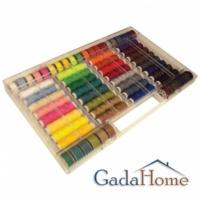 Gadahome Singer 500-01 32 Renk Renkli İplik Seti