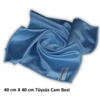 Polikur Mikrofiber Cam Bezi 40 x 40 Cm