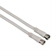 Hama Sat Kablosu F Fiş - F Fiş Beyaz 3M
