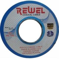 Rewel Anten Kablosu Rg6 U4 Full Hd 3D Uyumlu 100 Metre