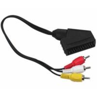 Rewel Scart Adaptör Dişi Rca Erkek 20 Cm Kablo
