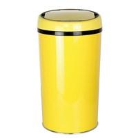 Hiper Sensörlü Çöp Kovası 12 Lt. Sarı
