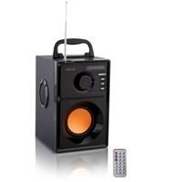 Mikado MD-10A 5W+2.5W*2 Siyah FM Radyo Destekli Bluetooth Speaker