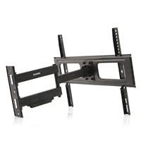 """Dark 37""""- 70"""" Curved Uyumlu & Flat Panel Destekli, Hareketli ve Katlanabilir Duvar Tipi TV Askı Aparatı (DK-AC-VT37)"""