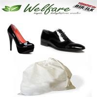 Biyax 10 Adet Saklama Torbası (Erkek Ayakkabı)