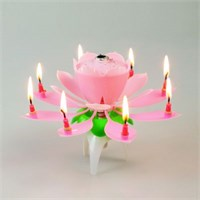 Hepsi Dahice Otomatik Açılıp Müzik Çalan Doğum Günü Mumu