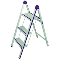 Gazella SM UPM 243 Up'N Up Alüminyum Merdiven / 3 Basamaklı