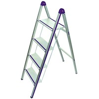Gazella SM UPM 244 Up'N Up Alüminyum Merdiven / 4 Basamaklı