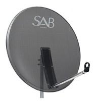 Sab 97Cm Ofset Delikli Çanak Anten Antrasit