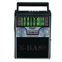 Kamal Km-721 Usb+Sd Mp3 Çalar Şarjlı Radyo