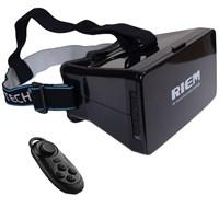 """Probiel Ritech Riem Google Cardboard Plastik Bluetooth Kumandalı 5.6"""" Sanal Gerçeklik Gözlüğü"""