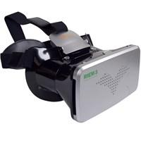 """Probiel Ritech Riem 3 Google Cardboard Plastik 6"""" Sanal Gerçeklik Gözlüğü Siyah"""