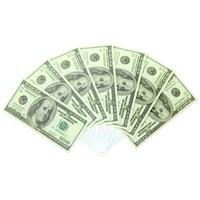 Hepsi Dahice Dolar Şeklinde Serinleten Yelpaze 7'Li