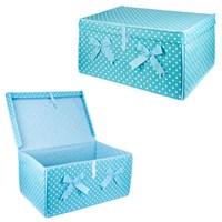 Bluzen Çok Amaçlı Kapaklı Kutu-Mavi