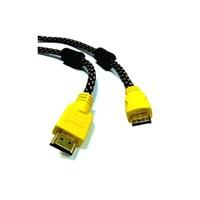 Rose Hdmı To Mini Hdmı Kablo Örgülü Filtreli Altın Uçlu 5 Metre