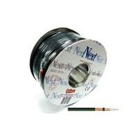 Next Ye-9710Bc Rg6-U4 Bakır Anten Kablosu 100Metre Siyah