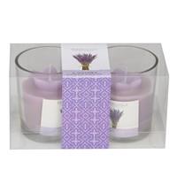 Setabianca Aroma Mum Kokulu Cam Bardak 2'Li Lavender