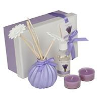 Hepsi Dahice Aroma Diffuser Set Tealight 2'Li Tütsü Lavender