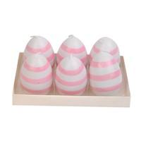 Hepsi Dahice Fun Candle Tealight Yumurta 6'Lı H6cm