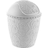 Alper Dantel Robotik Çöp Kovası No2 - Beyaz