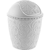 Alper Dantel Robotik Çöp Kovası No3 - Beyaz
