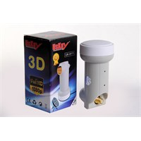 Uskey Uk-9111 Universal 3D 4K Full Hd Tekli Lnb
