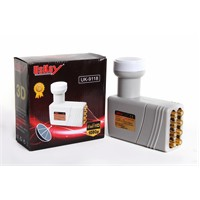 Uskey Uk-9118 Universal 3D 4K Full Hd Sekizli Lnb
