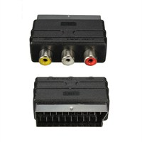 Swat 3Rca To Scart Audio Video Adaptör İn