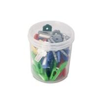 Bora Plastik Mandal Desenli ( 24 Adet ) - Bo 686