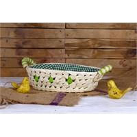 Gold Case Ekmek Sepeti Yeşil Er-16065