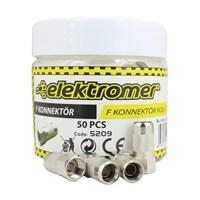 Elektromer Kolay F Konnektör 50 Li Kutu
