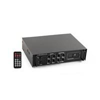 Mikado Lcd Displayer Amplifikatör Hy160m 120W Usb+Sd Destekli Siyah