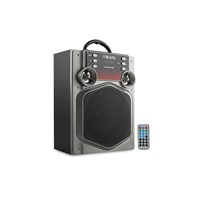 Mikado Md-466 Bluetooth Müzik Kutusu 15W Gri Usb+Sd+Fm Destekli