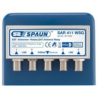 Spaun Sar 411F Diseqc Switch