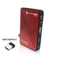 Süpermax Mini Hd Uydu Alıcısı + Wifi Hediye
