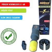 Hdbox Slim Twin Lnb ( High Gain Series )