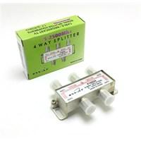 Swat 1/4 Splitter 5-2500 Mhz