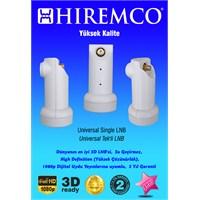 Hiremco 3D-Full HD Tek Çıkışlı Üniversal LNB
