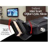 Trident Scart Mini Bissli Uydu Alıcı