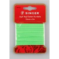Singer 300-83 Açık Yeşil Saten Kurdele (10 mm x 3 m)